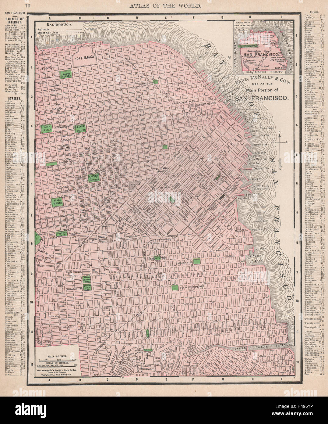 San Francisco city map plan. Street car lines. California ... on porterville city street map, springfield city street map, irvine city street map, san pablo city street map, santa clara county street map, jackson city street map, austin city street map, tacoma city street map, medford city street map, aurora city street map, snohomish city street map, wichita city street map, new haven city street map, inglewood city street map, ithaca city street map, napa city street map, flagstaff city street map, johannesburg city street map, billings city street map, madison city street map,