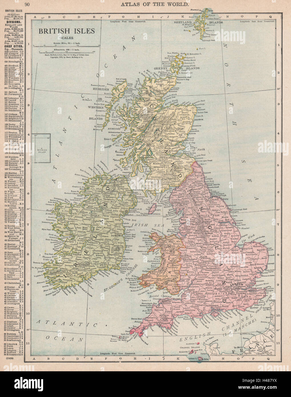 Map Of England Scotland And Ireland.Old Map England Ireland Stock Photos Old Map England Ireland Stock
