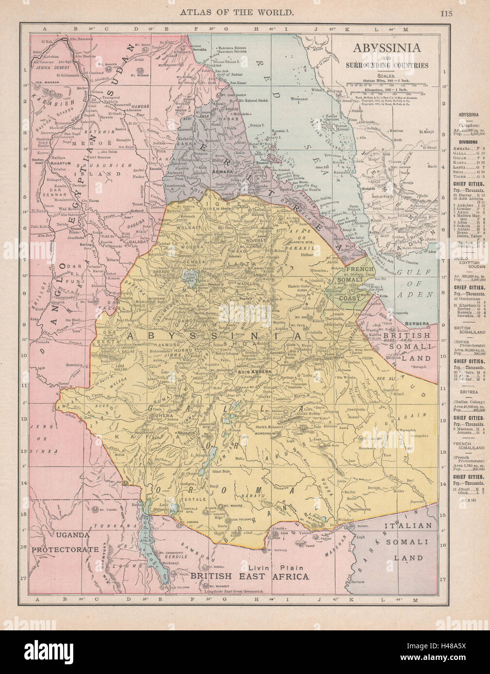Abyssinia eritrea french somali coast djibouti ethiopia rand stock abyssinia eritrea french somali coast djibouti ethiopia rand mcnally 1912 map gumiabroncs Images