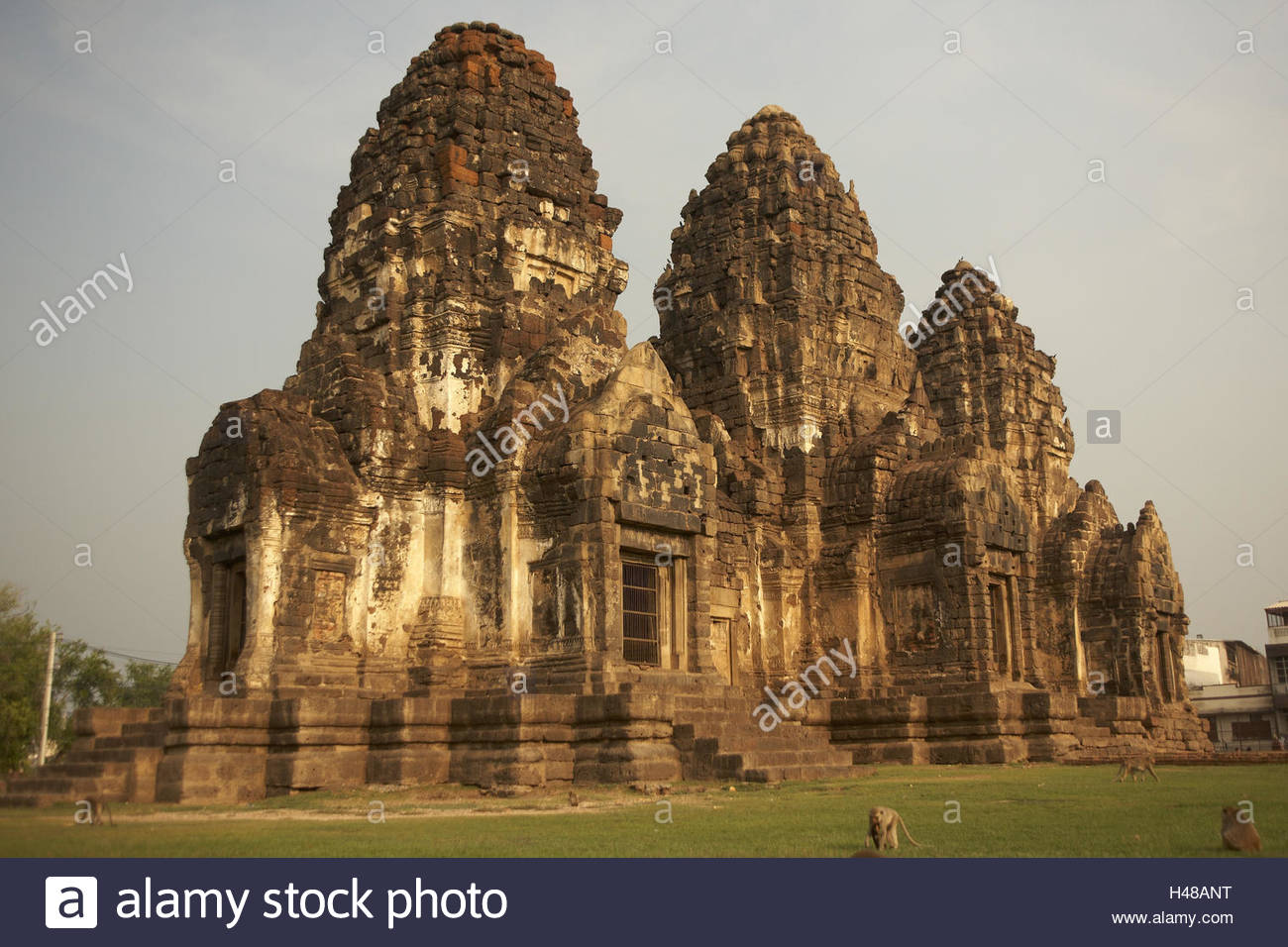 Asia, South-East Asia, Thailand, Zentralthailand, Lopburi, temple of the monkeys, Phra Being resplendent Sam Yod, - Stock Image