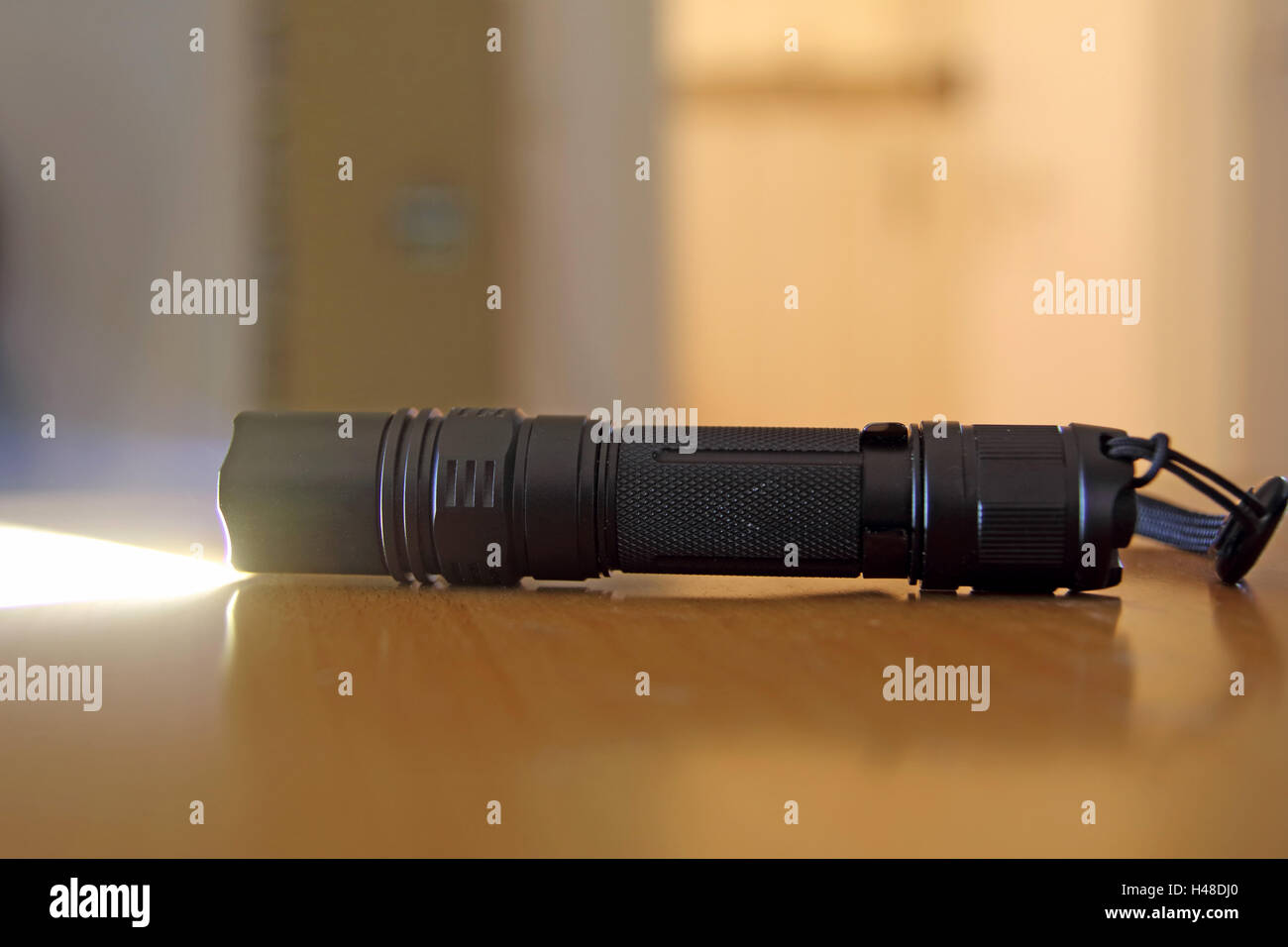 LED Flashlight - Stock Image