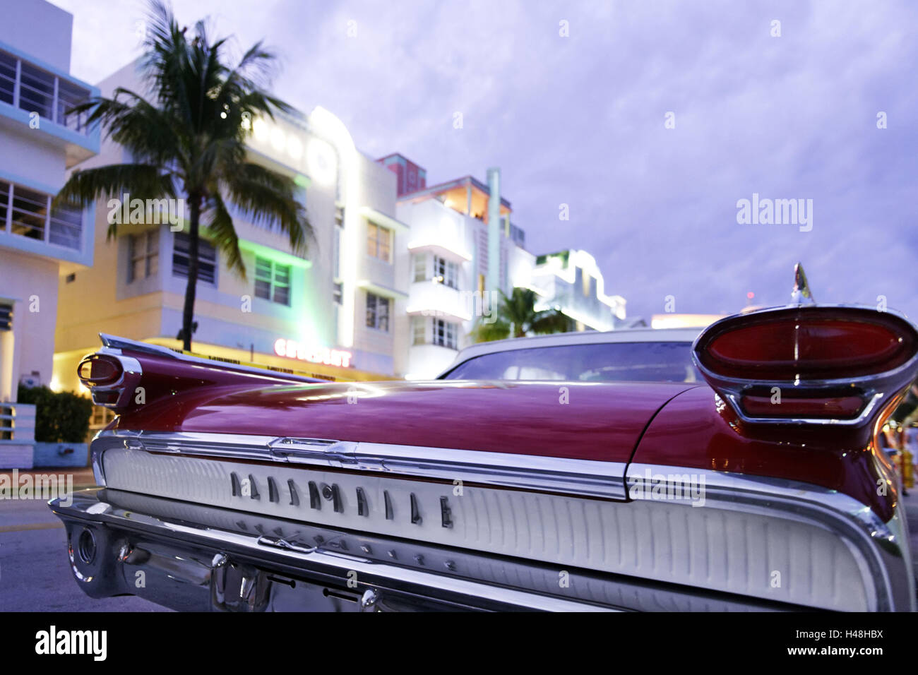 Oldsmobile Super 88, year of manufacture 1958, the fifties, American ...