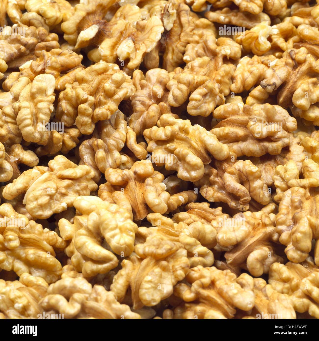 Walnut cores, Stock Photo