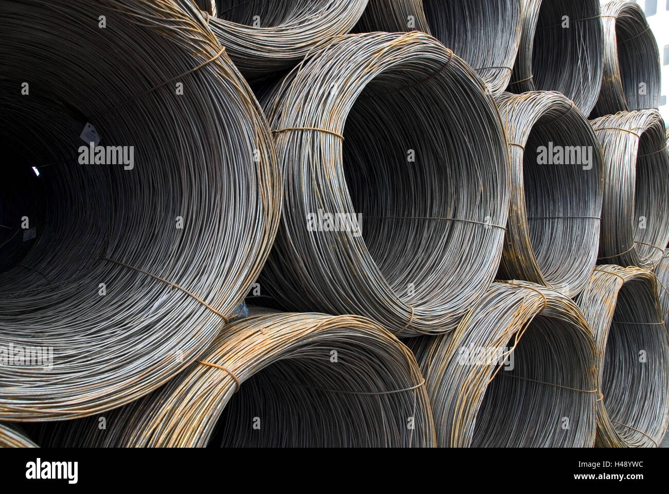 Wire Coils Stock Photos & Wire Coils Stock Images - Alamy