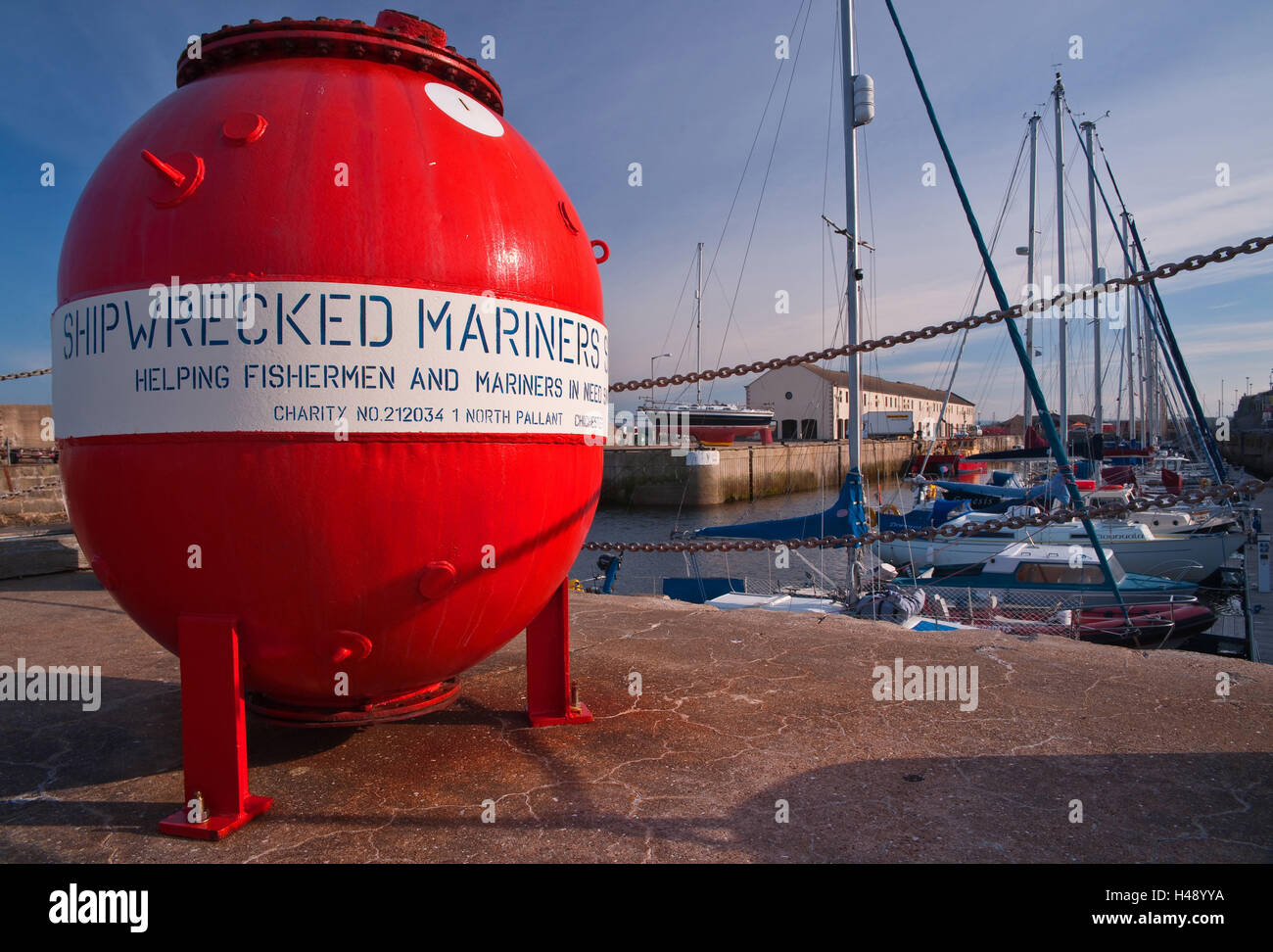 Scotland, Lossiemouth, Harbour, - Stock Image