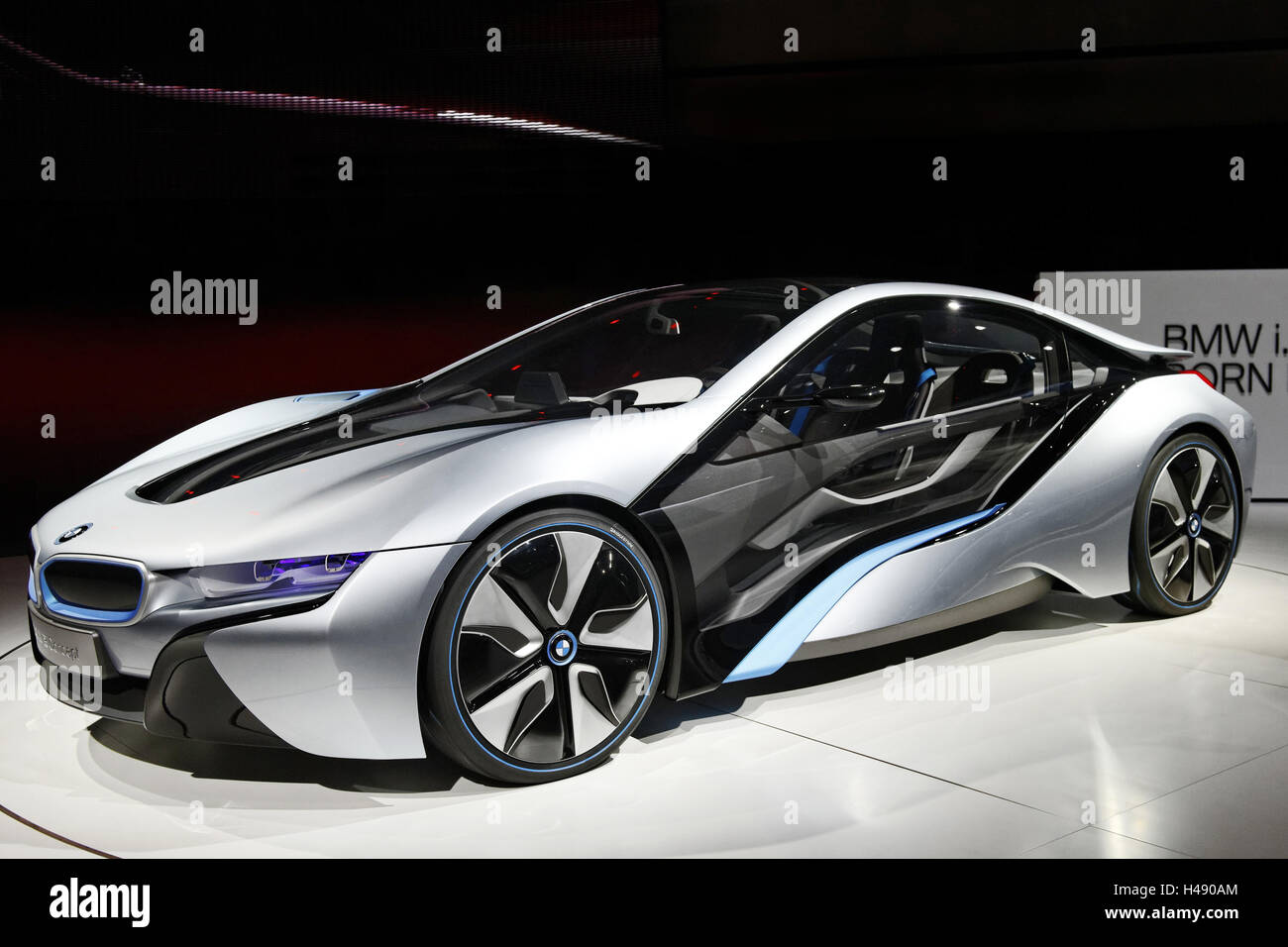 Bmw I8 Concept Hybrid Sports Car Design International Motor Show