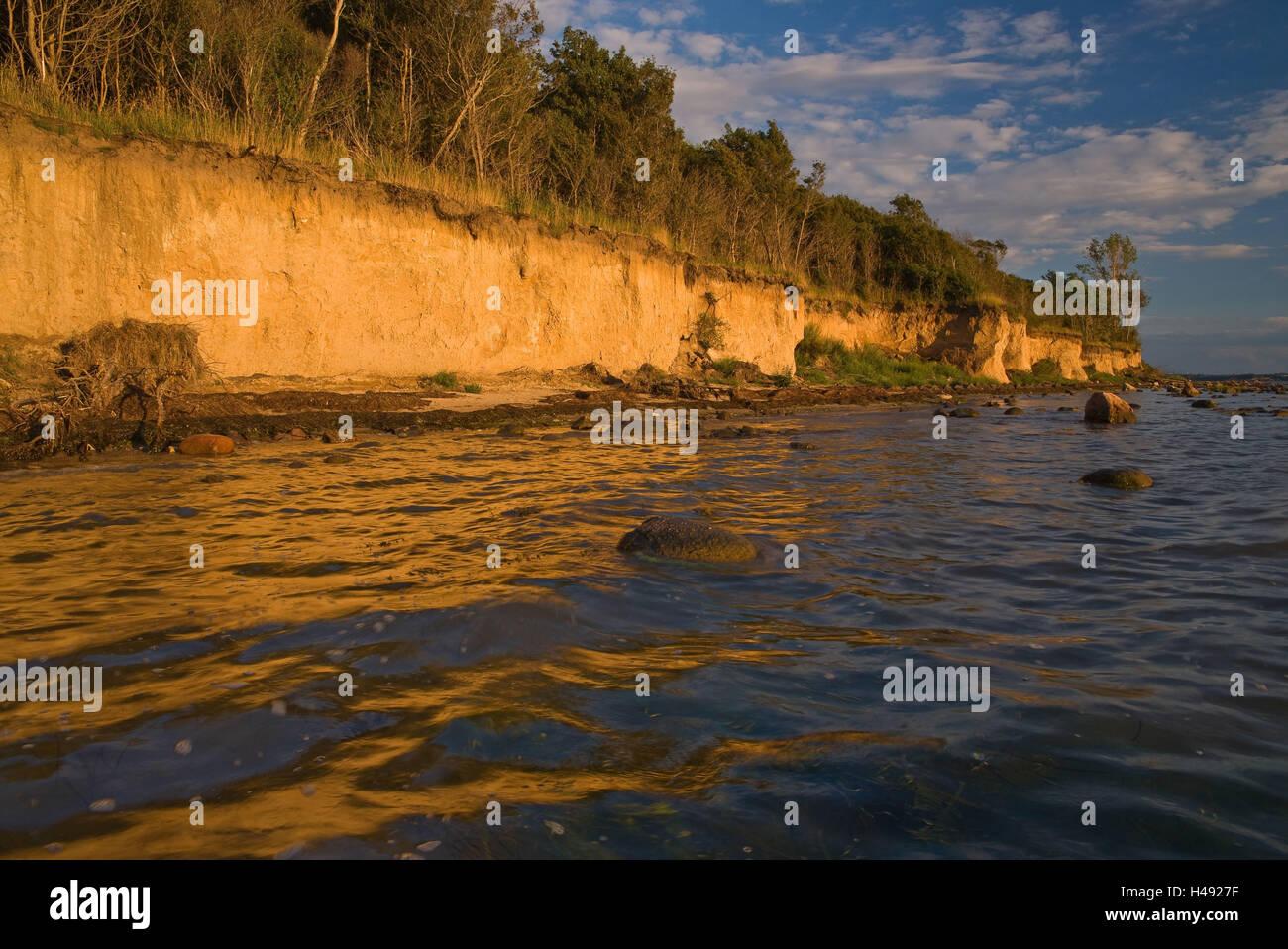 Baltic Sea, Insel Poel, coast, - Stock Image