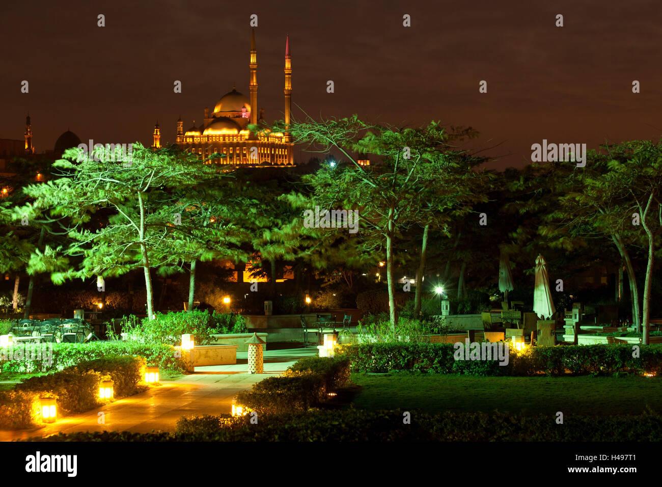 Egypt Cairo Citadel And Mosque Of Muhammad Ali Al Azhar