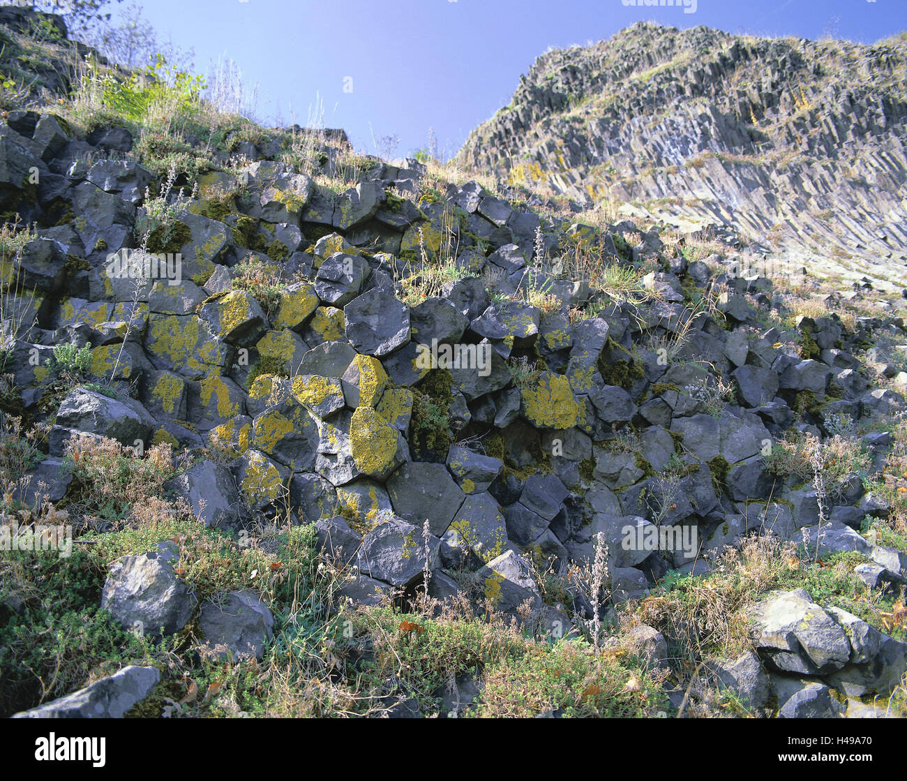 Germany, Bavaria, Upper Palatinate, park stone, 'high park stone', detail, scenery, mountain, rock formation, - Stock Image