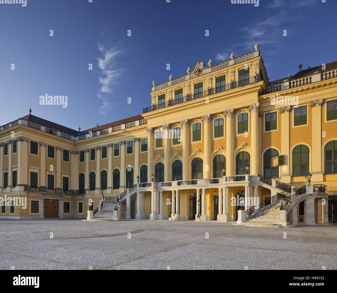 Austria, Vienna, 13th district, Hietzing, castle Schönbrunn, - Stock Image