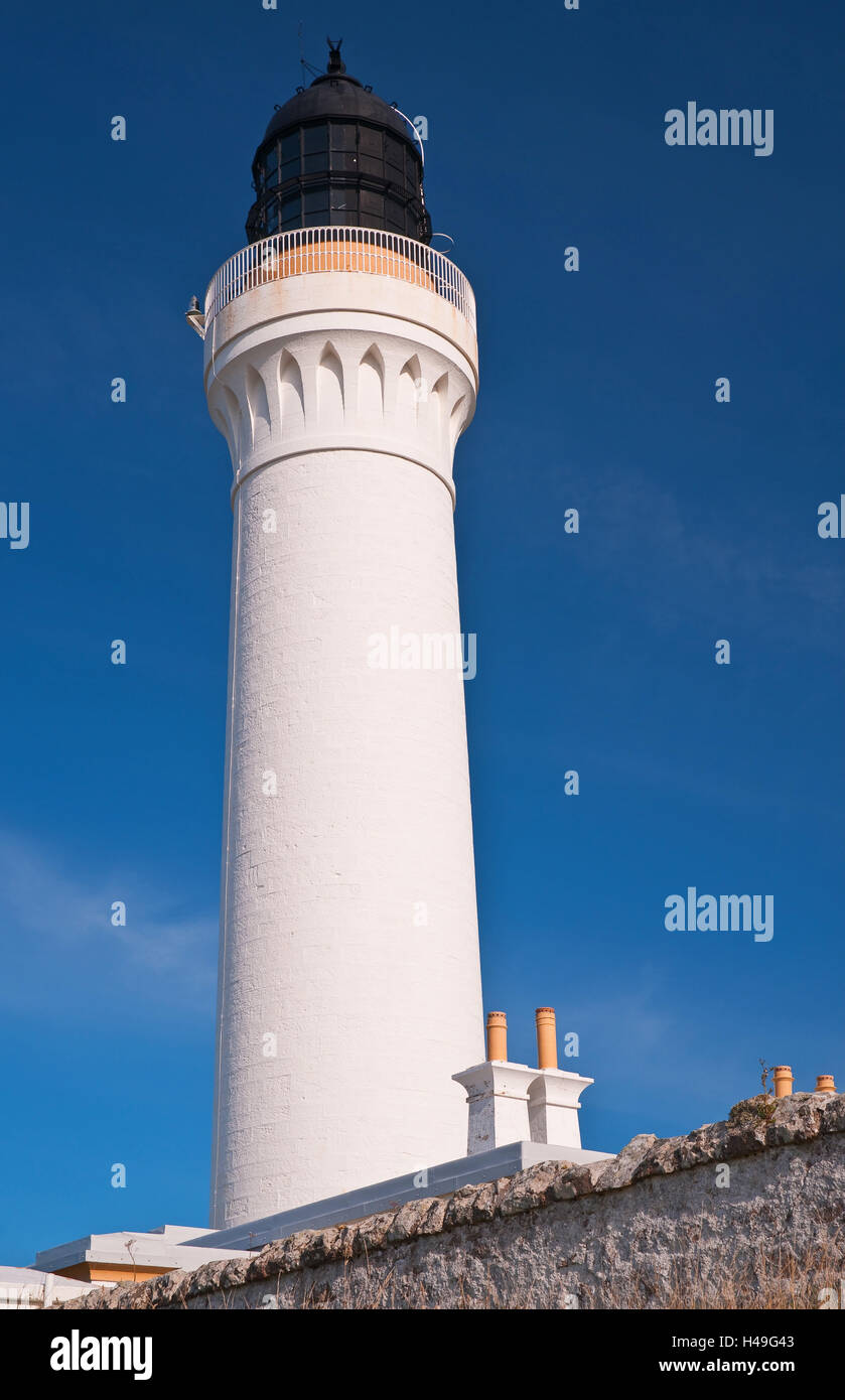 Scotland, Lossiemouth, lighthouse, Covesea Lighthouse, - Stock Image