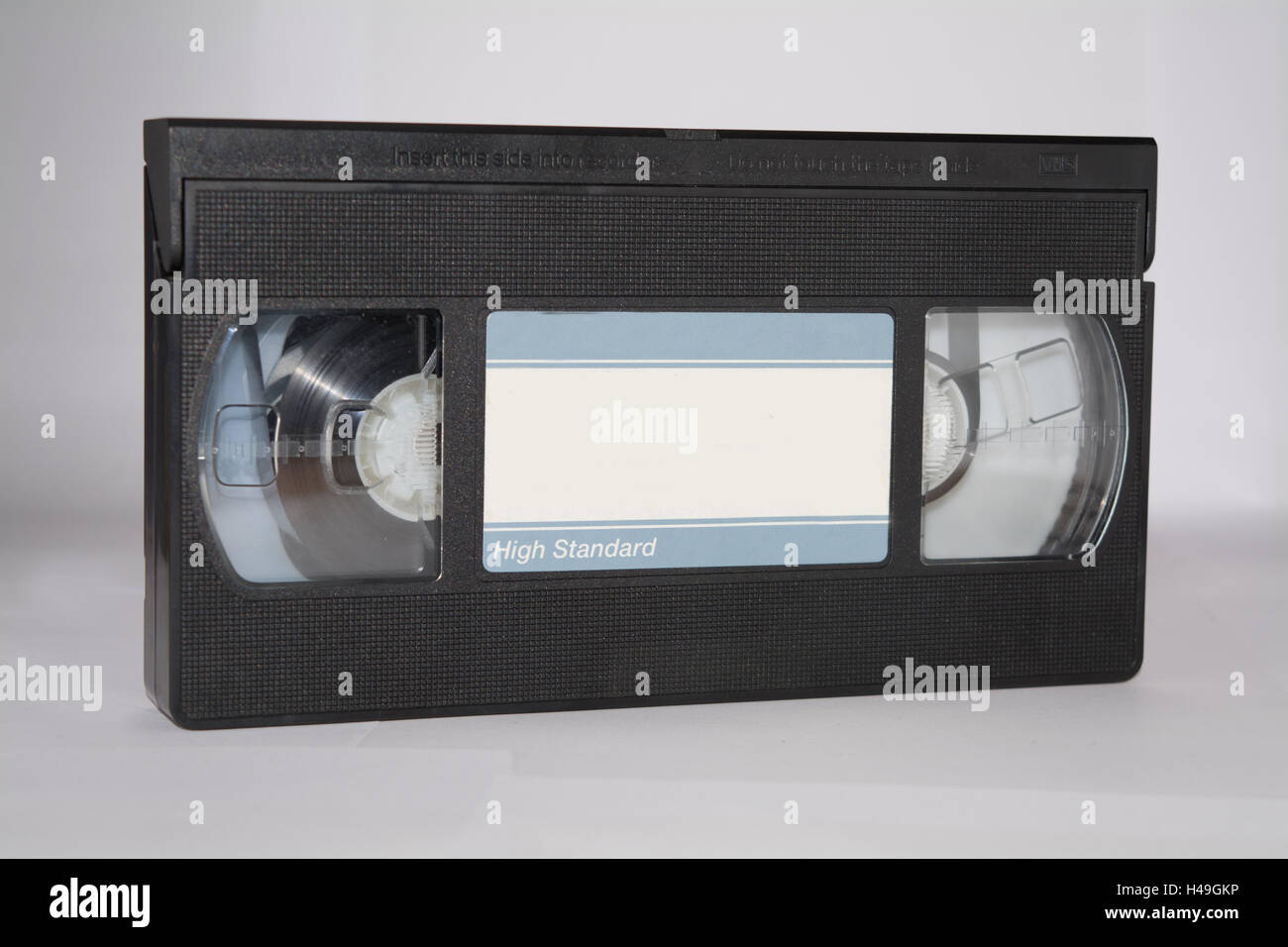 Old video cassette Stock Photo