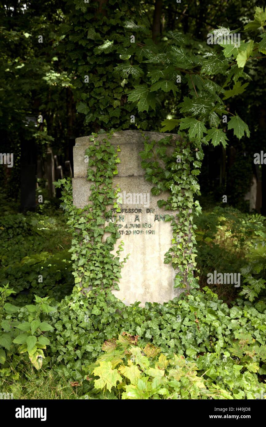 Historical, cemetery, gravestone, Judaism, Stock Photo