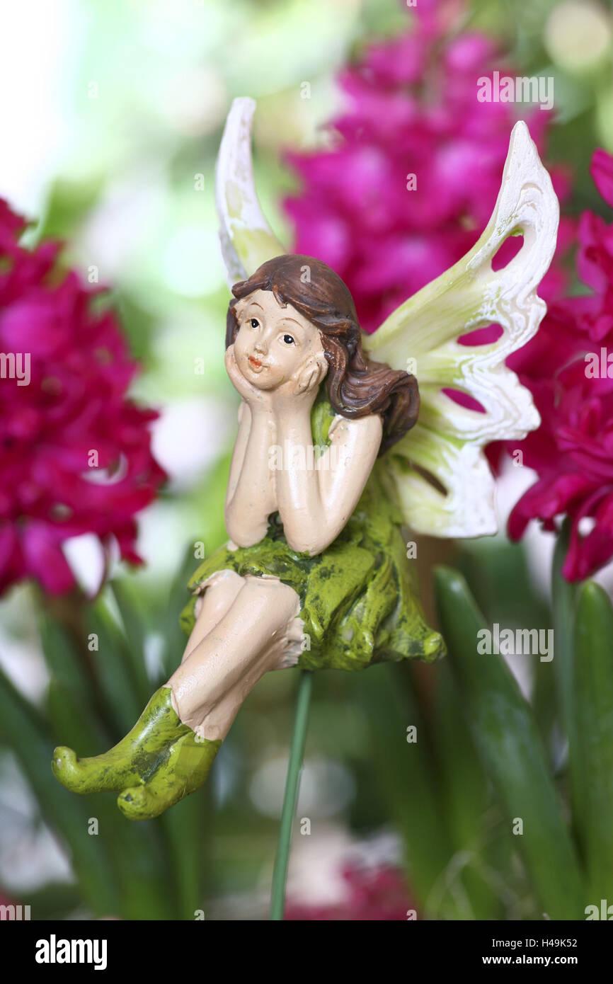 Elf, elfin figure, decoration, figure, fairy tale, legend, Stock Photo