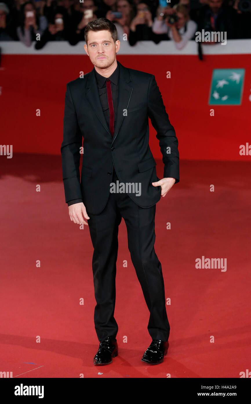 Michael Buble' Rome 14th October 2016. Rome Film Fest XI edition. Foto Samantha Zucchi Insidefoto - Stock Image