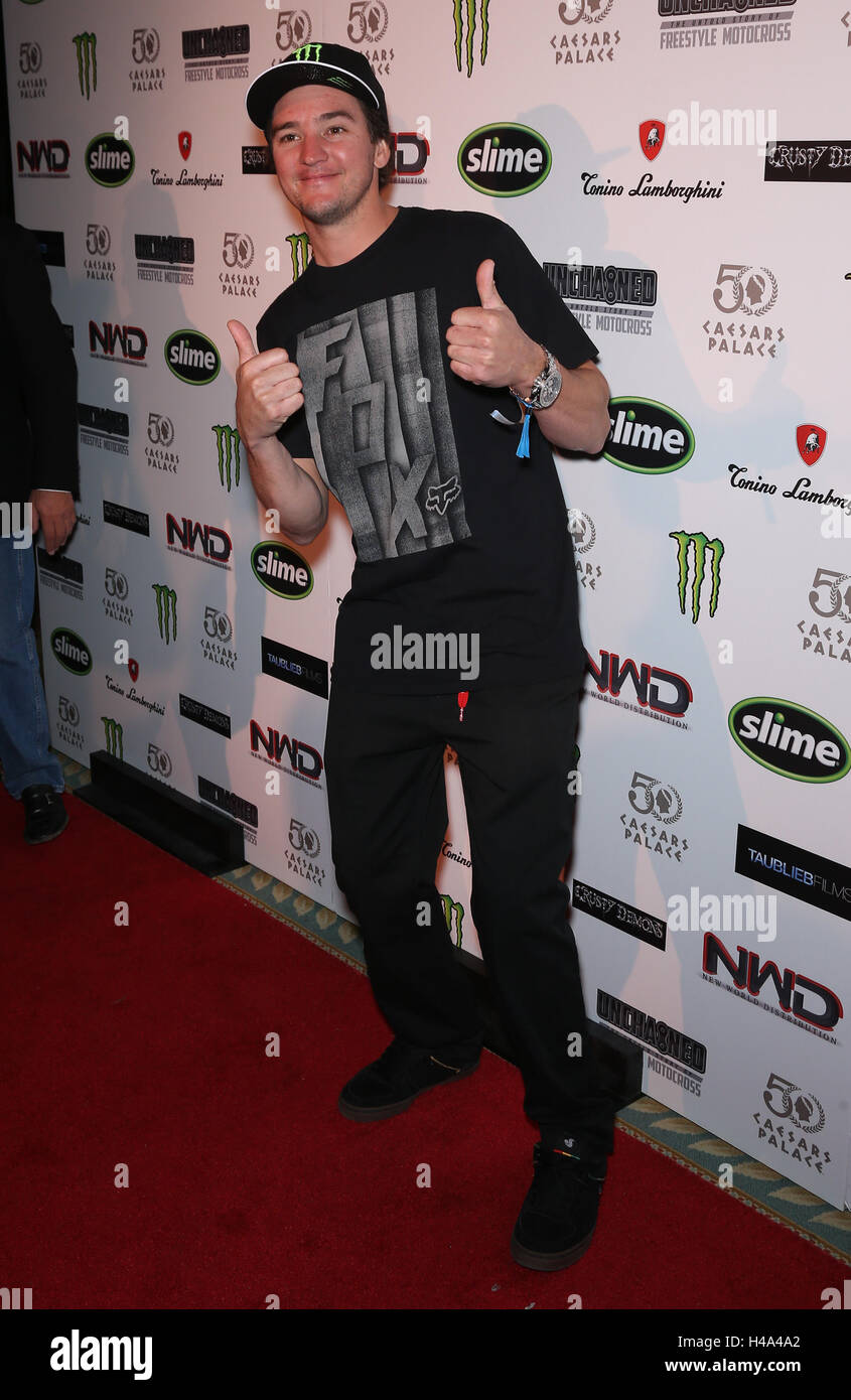 Las Vegas, NV, USA. 14th Oct, 2016. 14 October 2016 - Las Vegas, NV - Bilko. Premiere of Unchained: The Untold Story - Stock Image