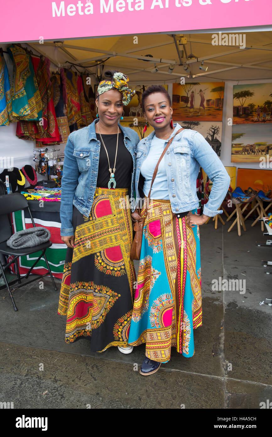 Trafalgar Square, London, UK. 15th Oct, 2016. Africa on the Square returns to Trafalgar Square for the third consecutive Stock Photo