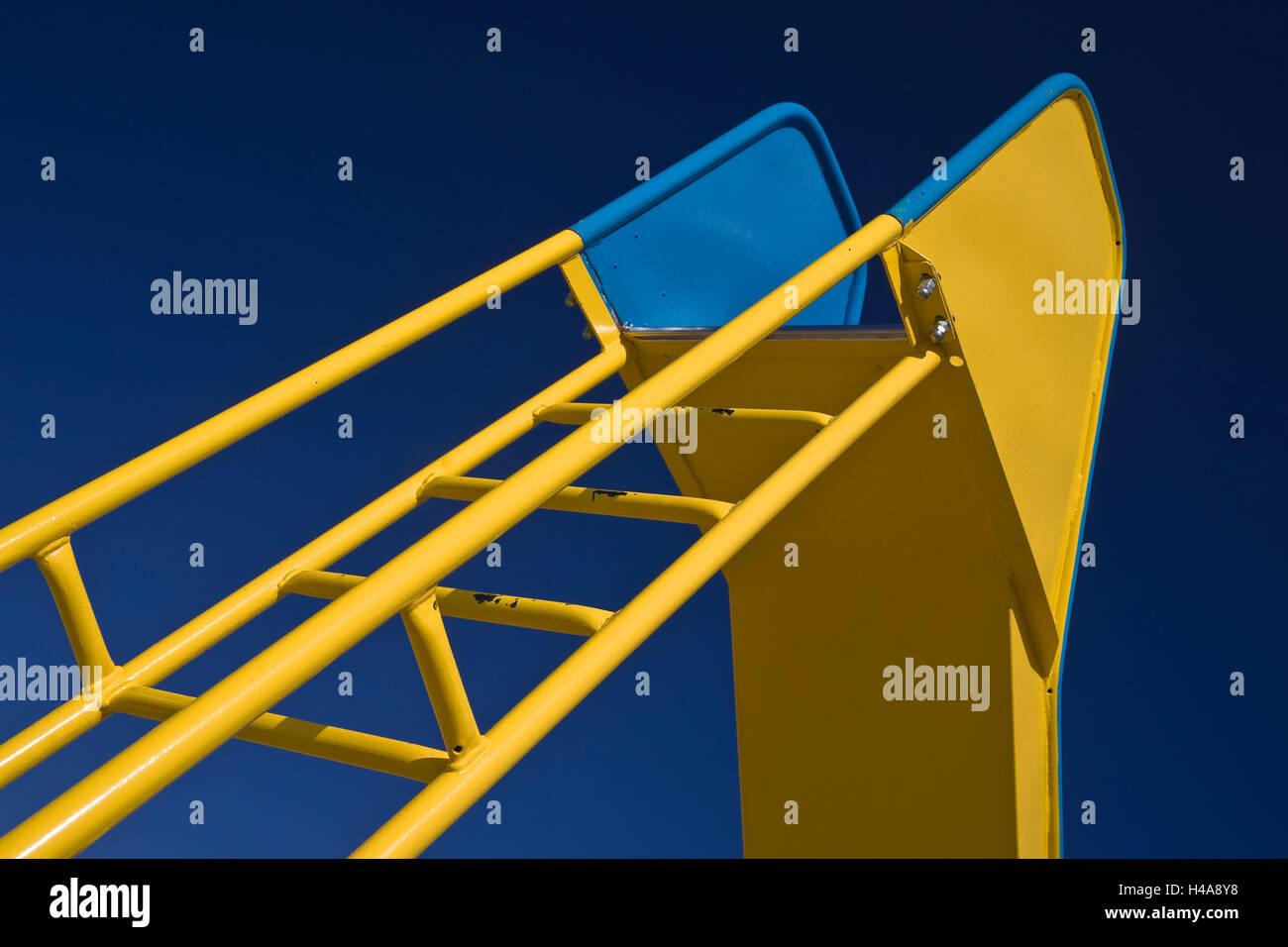 Children's slide, - Stock Image
