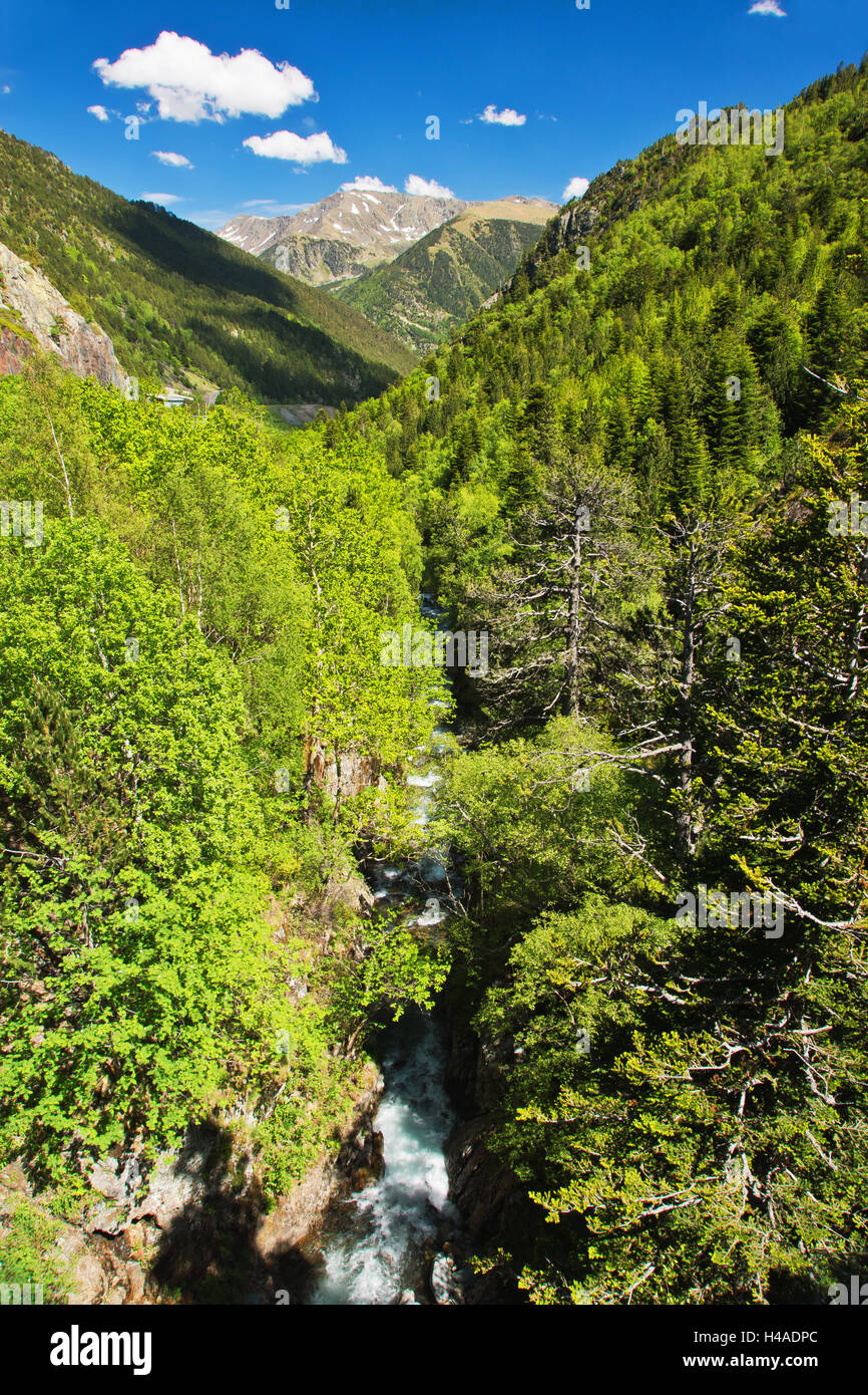 Arcalistal, Principality of Andorra, - Stock Image