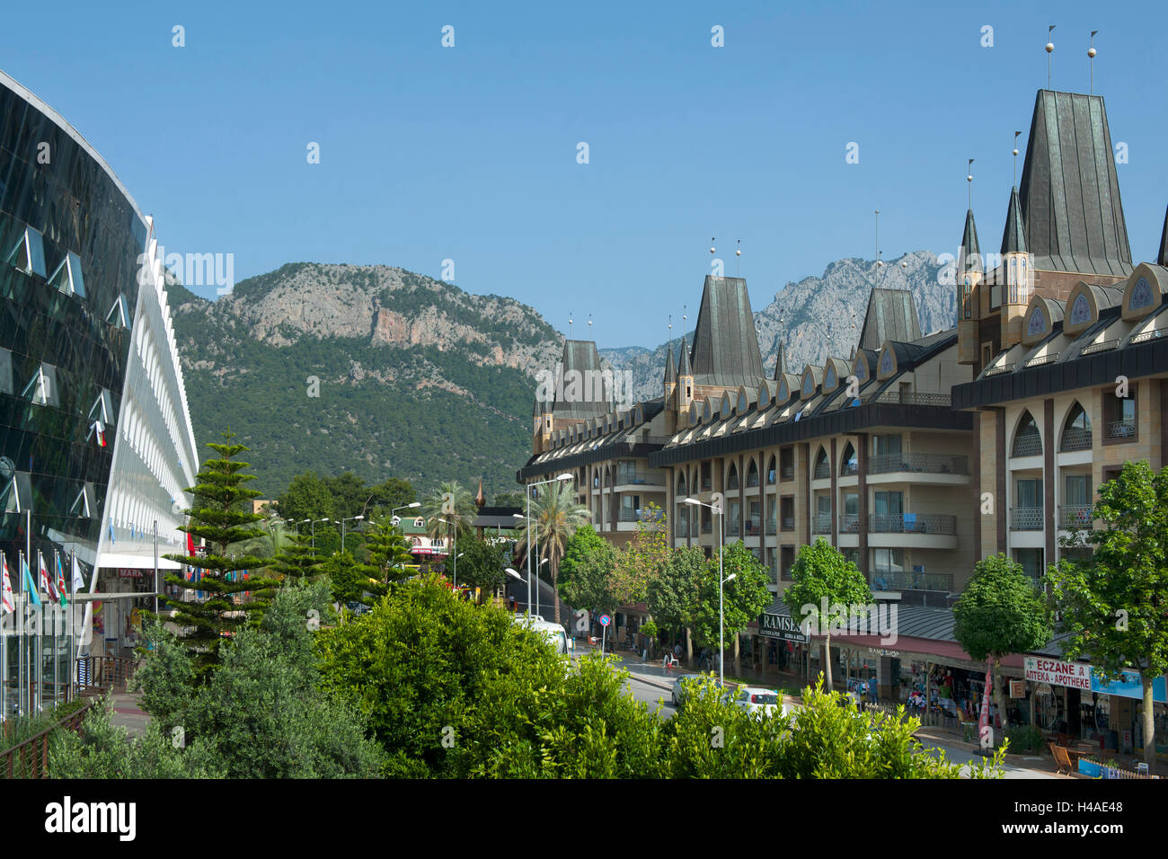 Turkey, Göynük with Kemer, Queen Elizabeth elite suite hotel and spa, - Stock Image