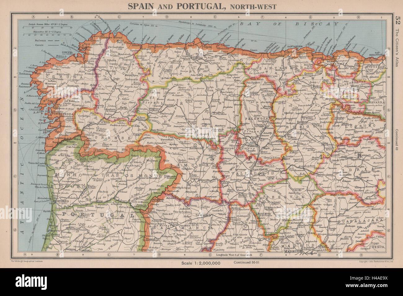 Iberia N West Spain Portugal Galicia Asturias Castilla Leon