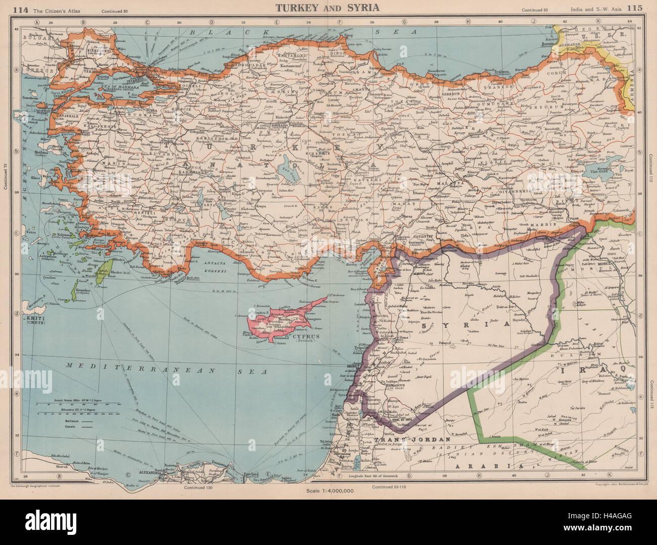 Turkey levant syria incorporates lebanon palestine predates syria incorporates lebanon palestine predates israel 1944 map gumiabroncs Images