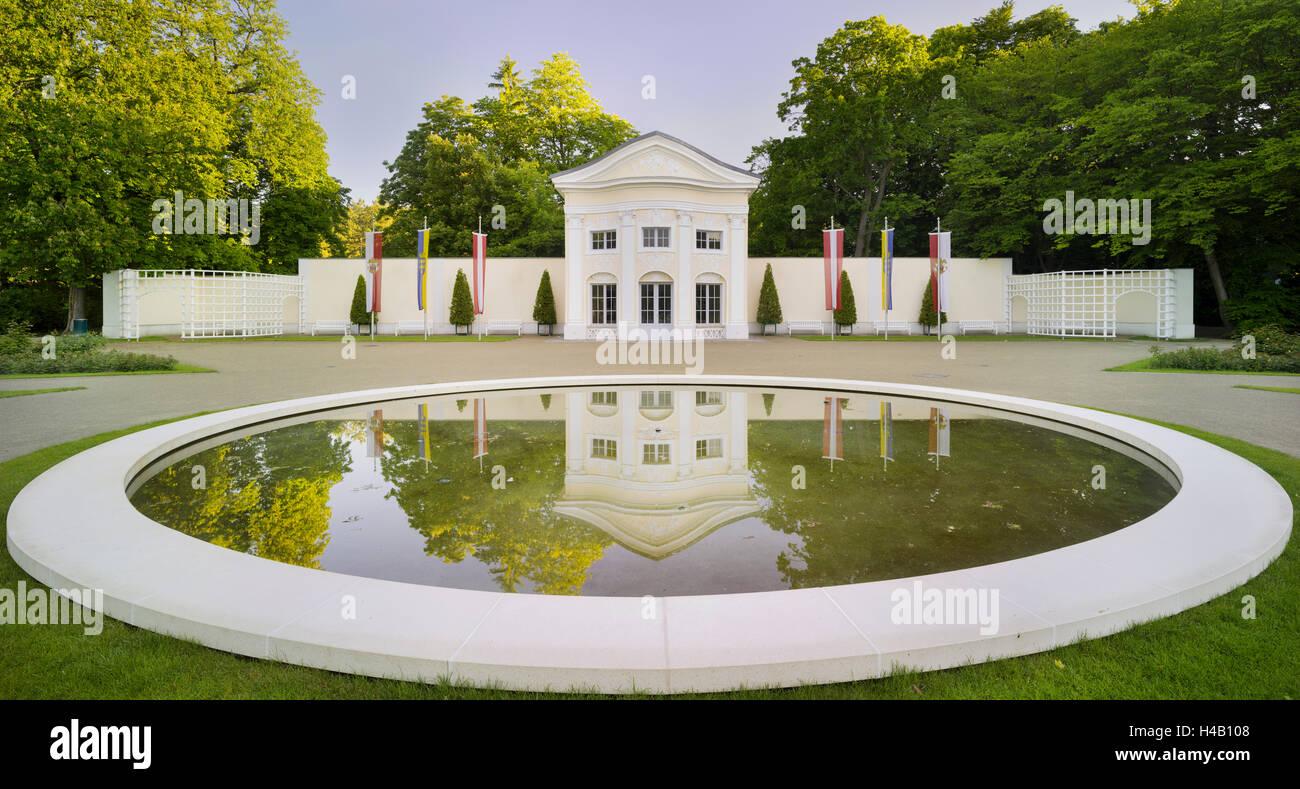 7a859af85 Doblhoffpark, Rosarium, Baden bei Wien, Lower Austria, Austria - Stock Image