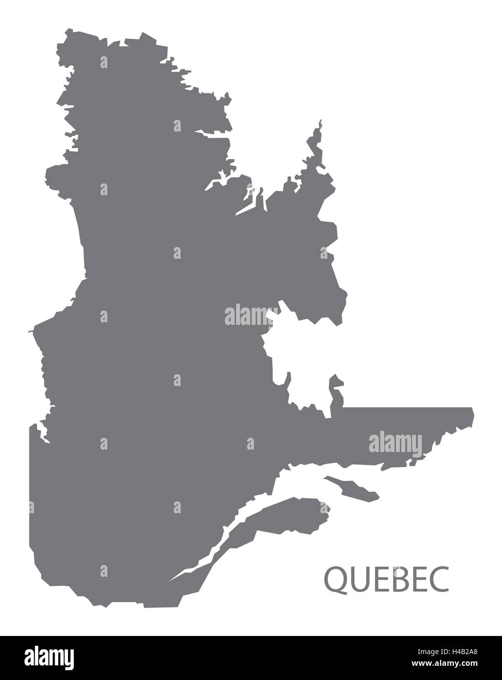 Quebec On Map Of Canada.Quebec Map Vector Stock Photos Quebec Map Vector Stock Images Alamy