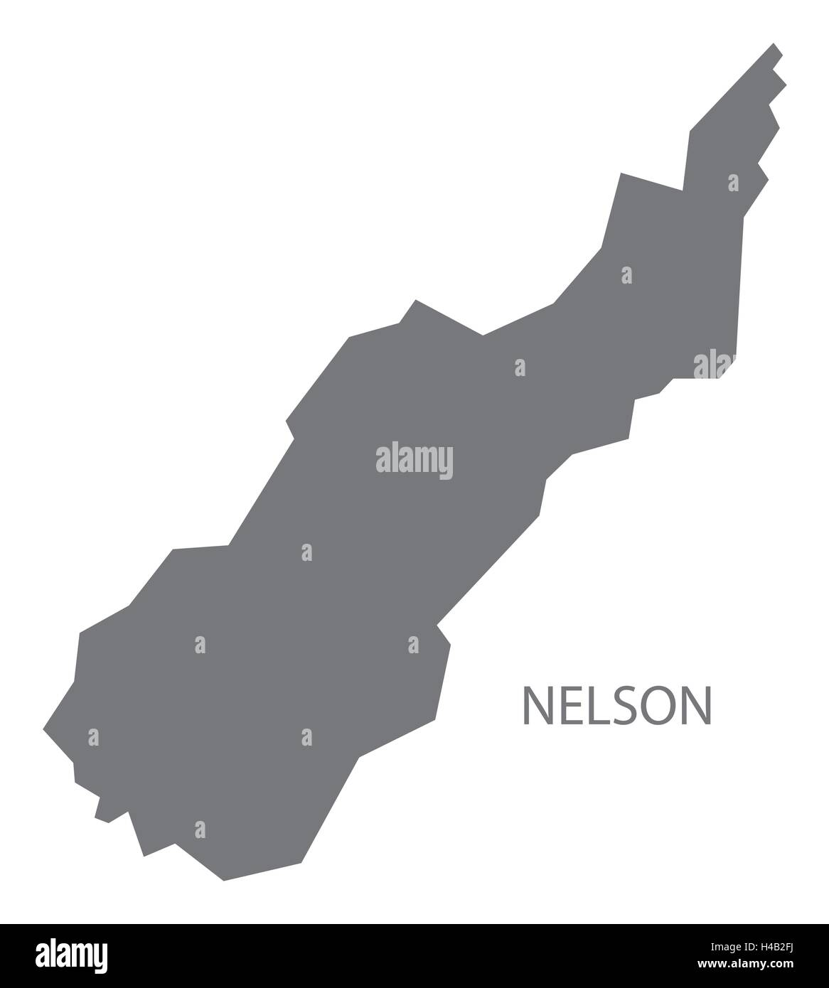 Map Nelson New Zealand.Nelson New Zealand Map Grey Stock Vector Art Illustration Vector