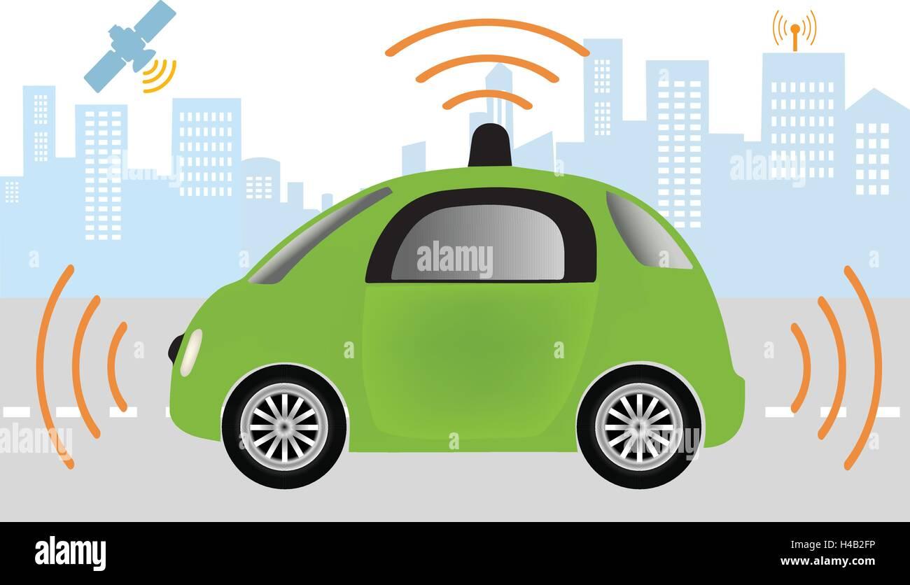 Self Driving Car Stock Photos Amp Self Driving Car Stock