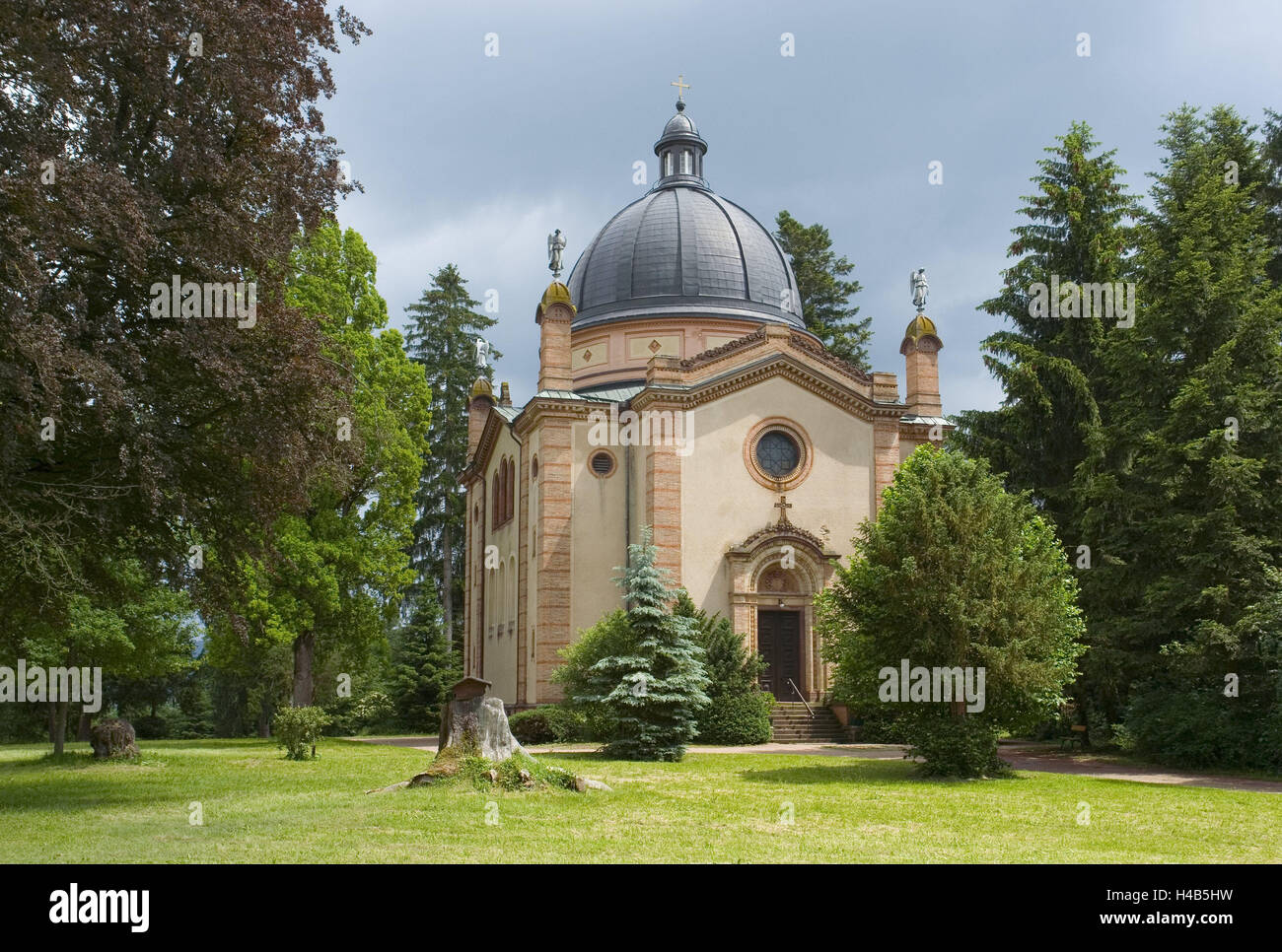 Germany, Baden-Wurttemberg, to new things, crypt church the princes to, prince's mountain, Black Forest ship - Stock Image