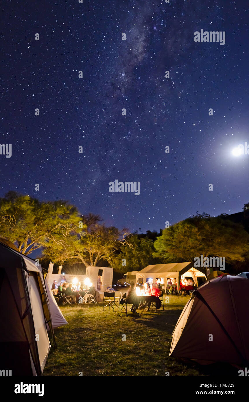 Africa, Tanzania, East Africa, Serengeti, lodge, Lobo Wildlife Lodge, tent camp, camp site, - Stock Image
