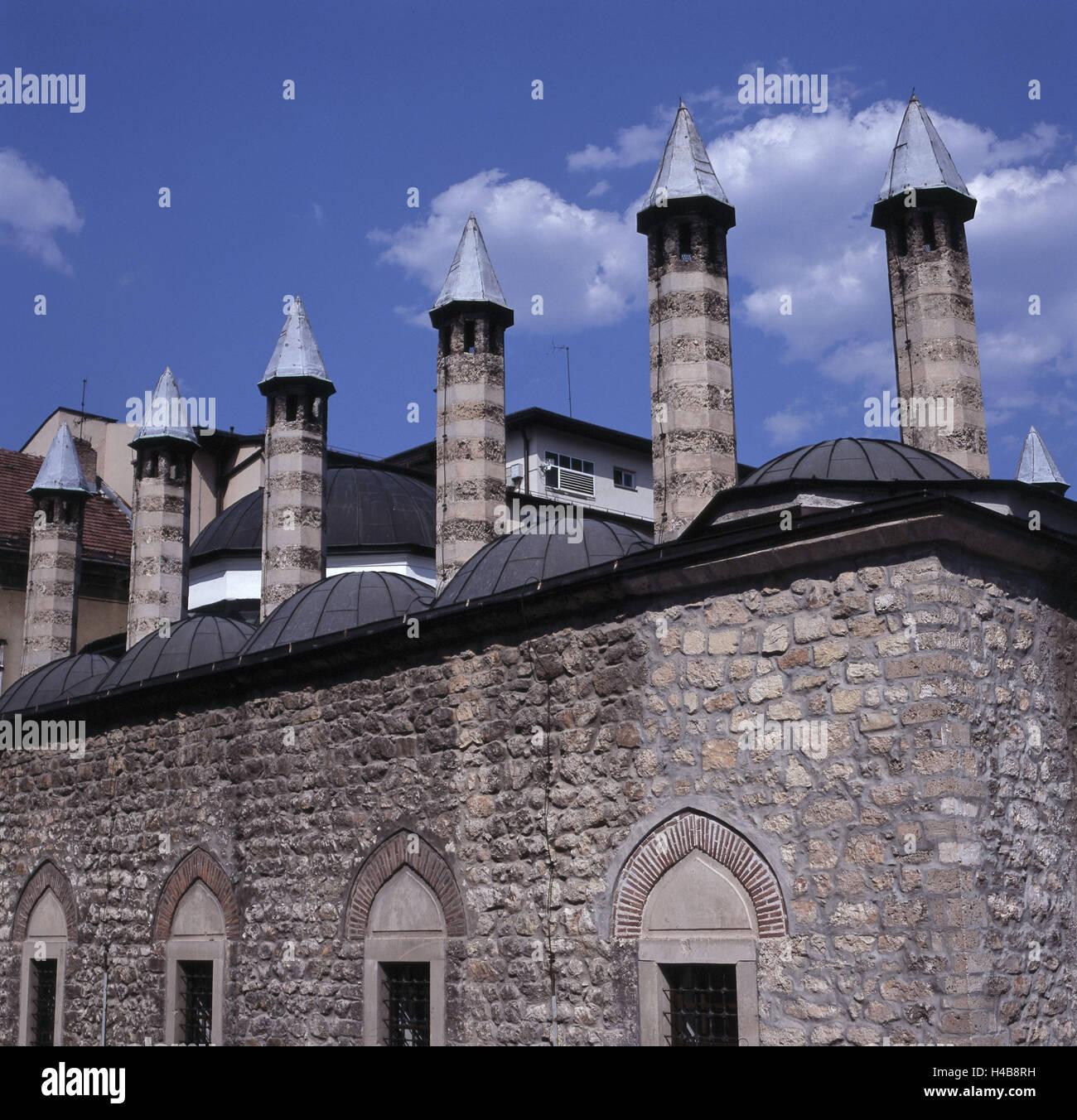 Bosnia-Herzegovina, Sarajevo, Medresa, religious school in the Gazi Husrev-beg Mosque, - Stock Image