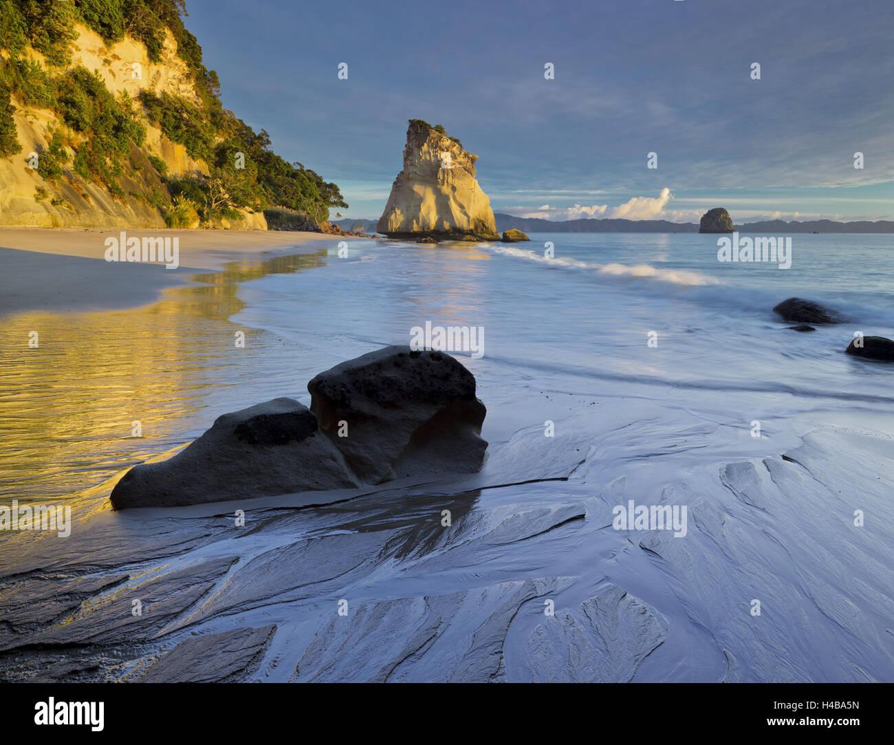 Cathedral Cove, Hahei, Coromadel Peninsula, Waikato, north Island, New Zealand - Stock Image