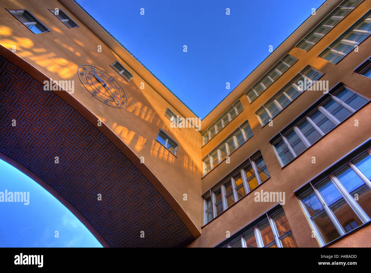 Architecture in the area around the main station Stockholm, Sweden - Stock Image