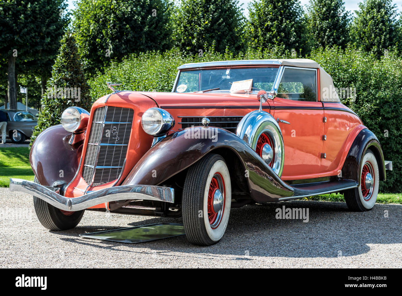 Germany, Schwetzingen, Classic gala, Auburn 852 Speedster, year of manufacture 1936, - Stock Image