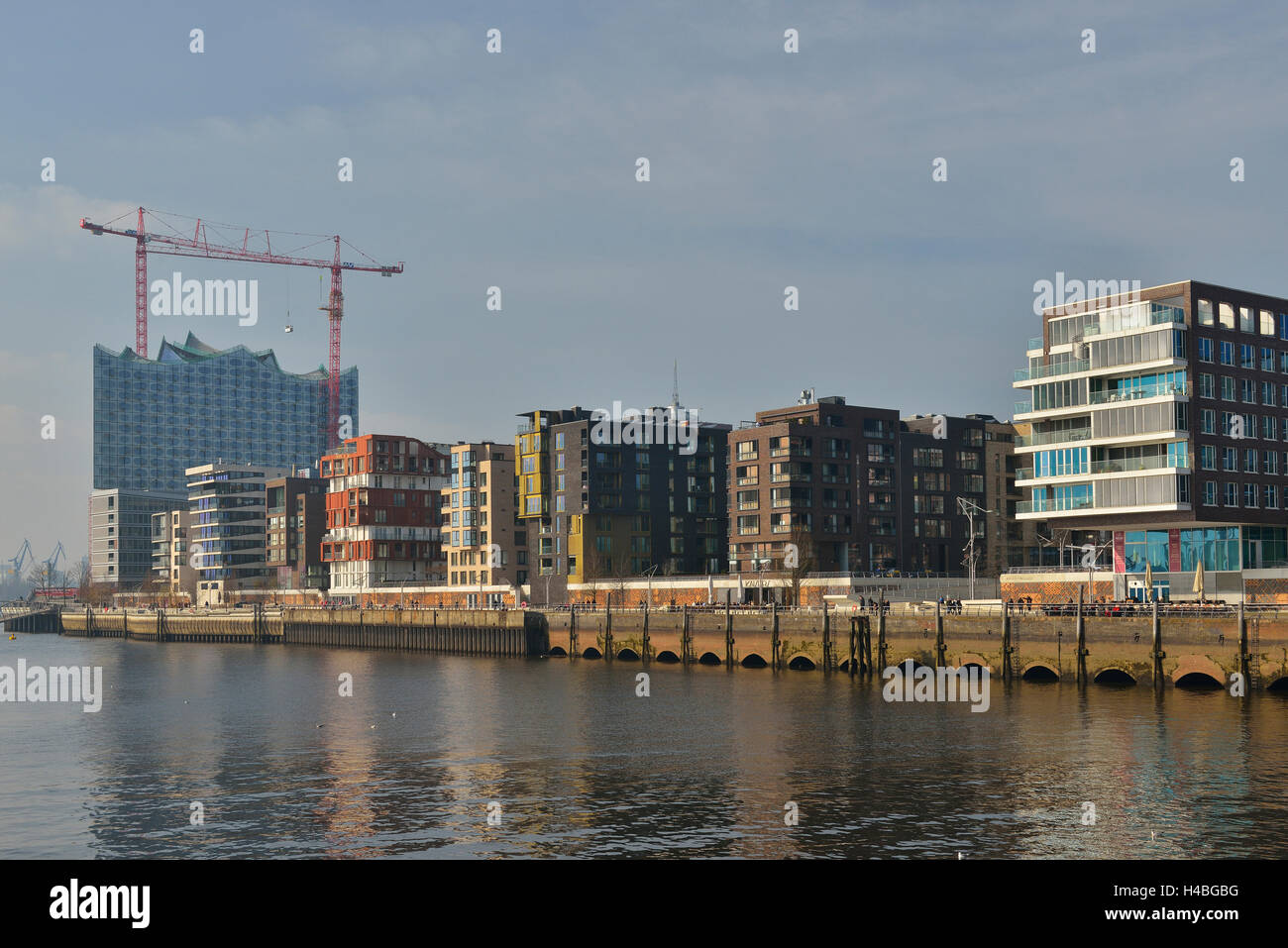Hafen City, Hamburg, Germany - Stock Image