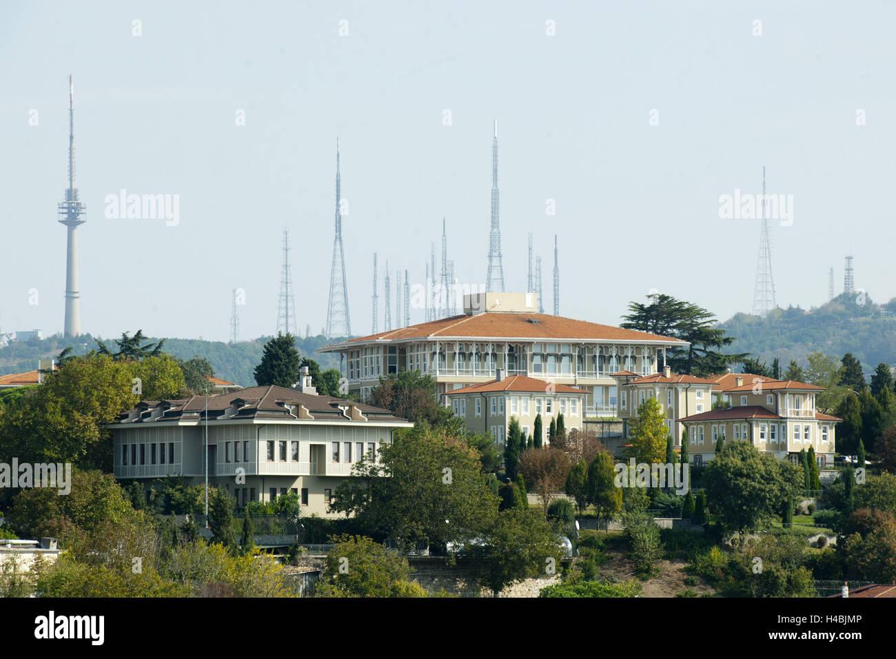 turkey home office. Turkey, Istanbul, Kuzguncuk, Head Office The Koc Holding Company On Nakkastepe, Turkey Home U