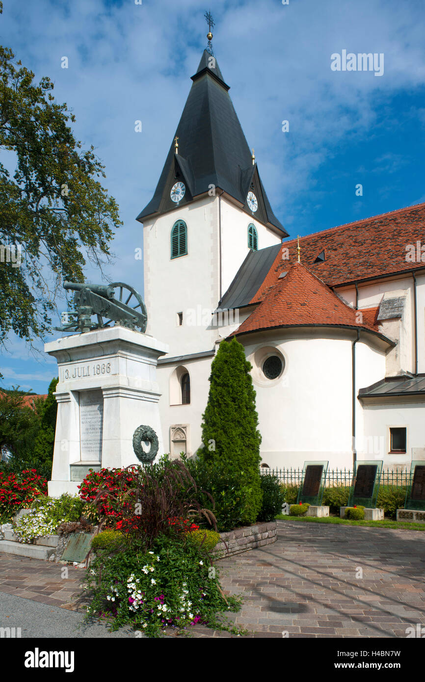 Austria, Styria, Gamlitz, parish church Peter and Paul - Stock Image