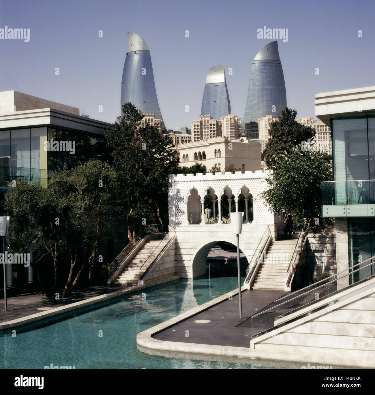City centre of Baku - Stock Image