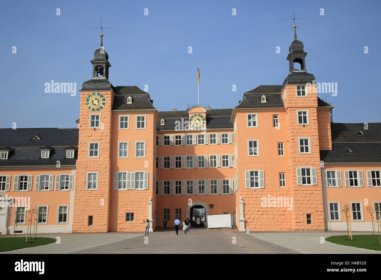 Schwetzingen Palace - Stock Image