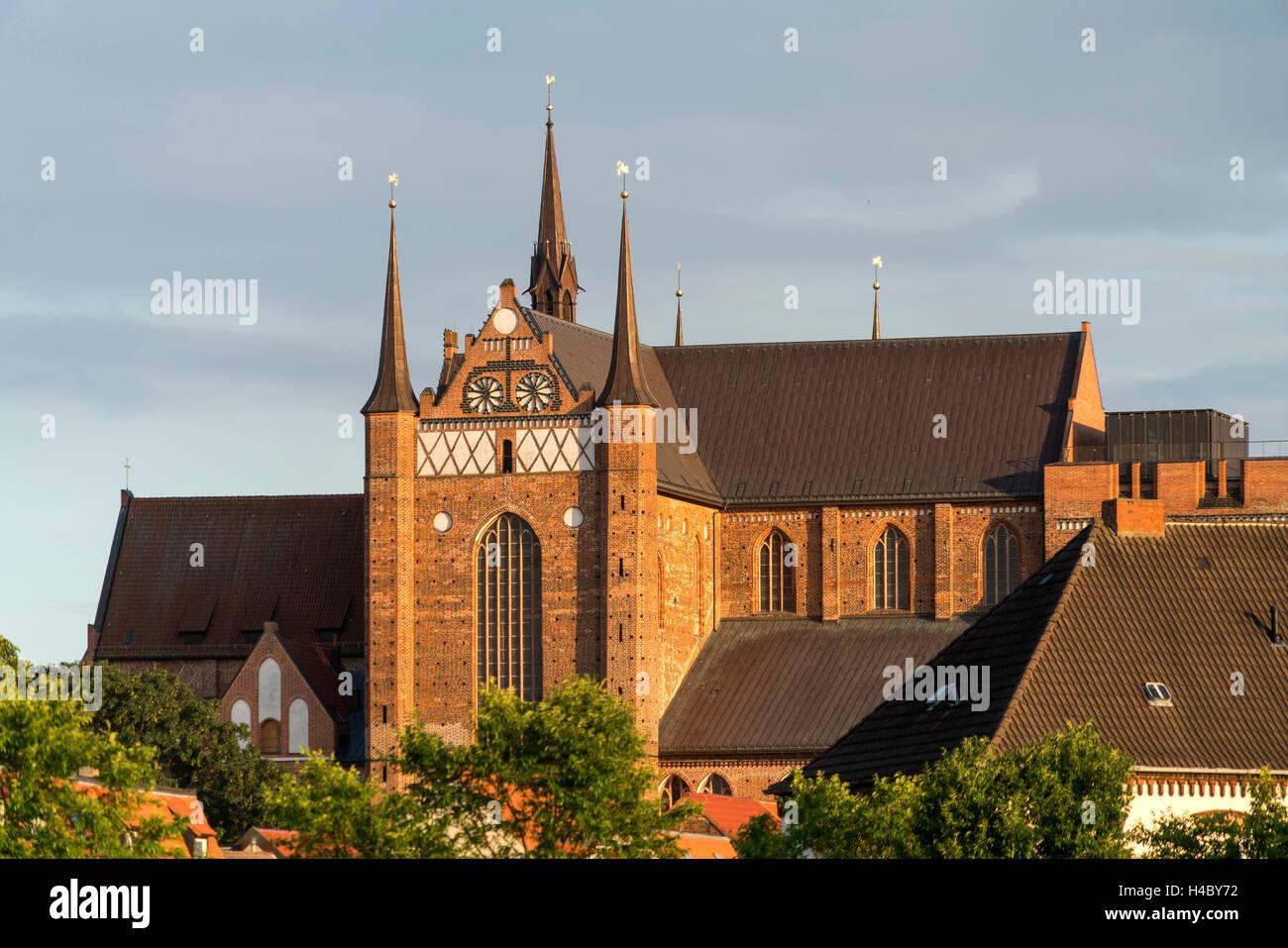 St. Georg Church, Hanseatic City of Wismar, Mecklenburg-Vorpommern, Germany - Stock Image