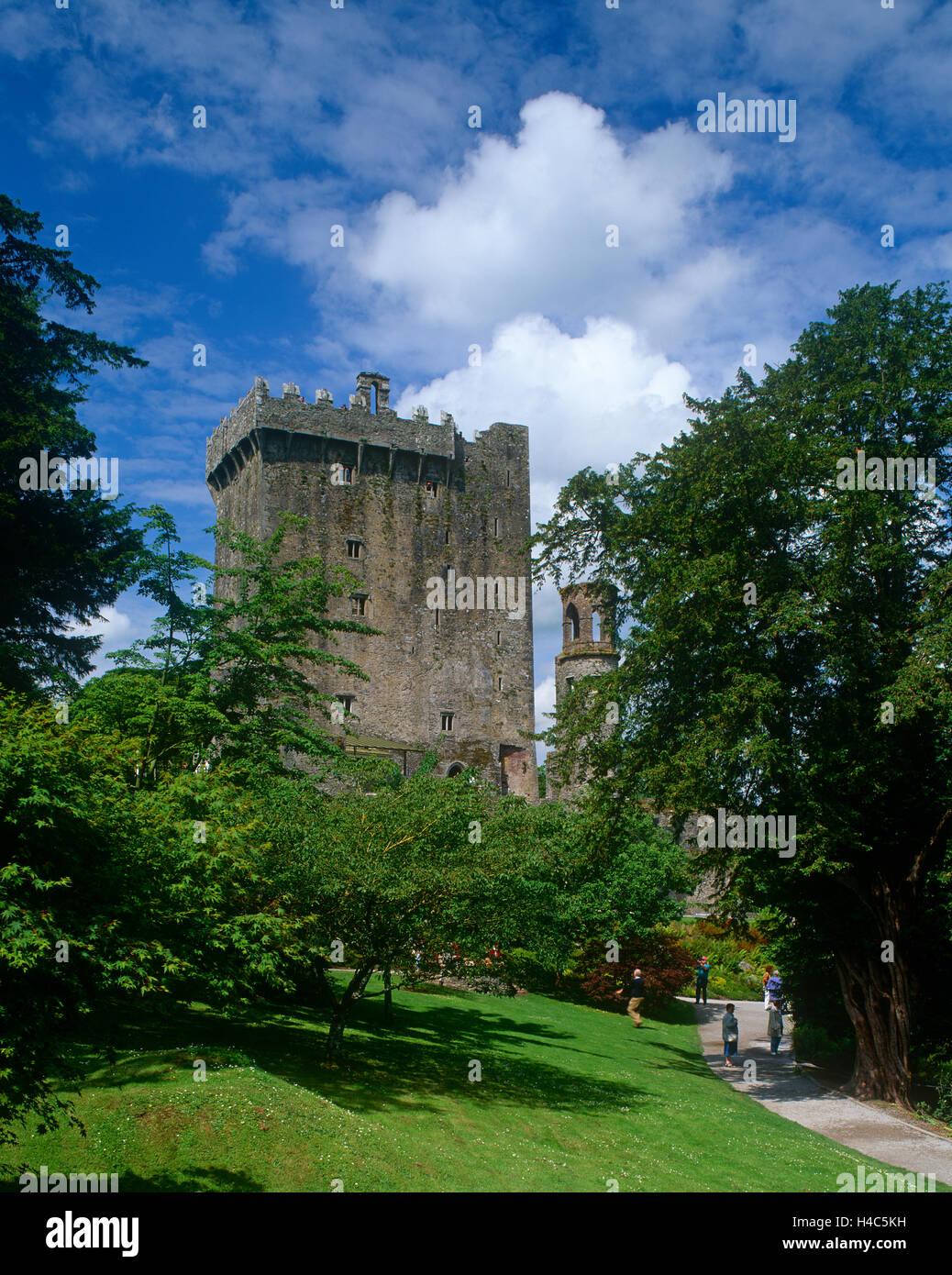 Blarney Castle, County Cork, Ireland - Stock Image