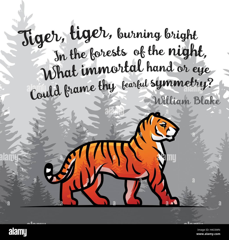 tiger tiger william blake