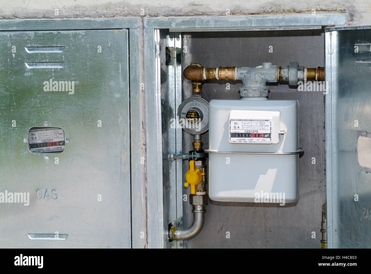 Domestic Gas Meter Stock Photos & Domestic Gas Meter Stock Images ...