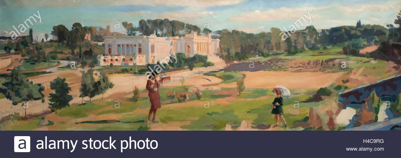 Giacomo Balla (1871-1958), Valle Giulia, 1921. - Stock Image
