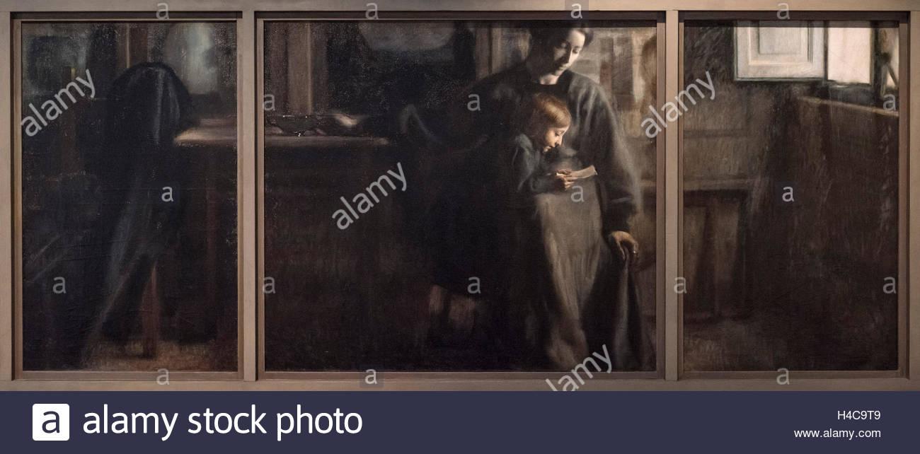 Giacomo Balla (1871-1958), Affetti, 1910. Affections. - Stock Image