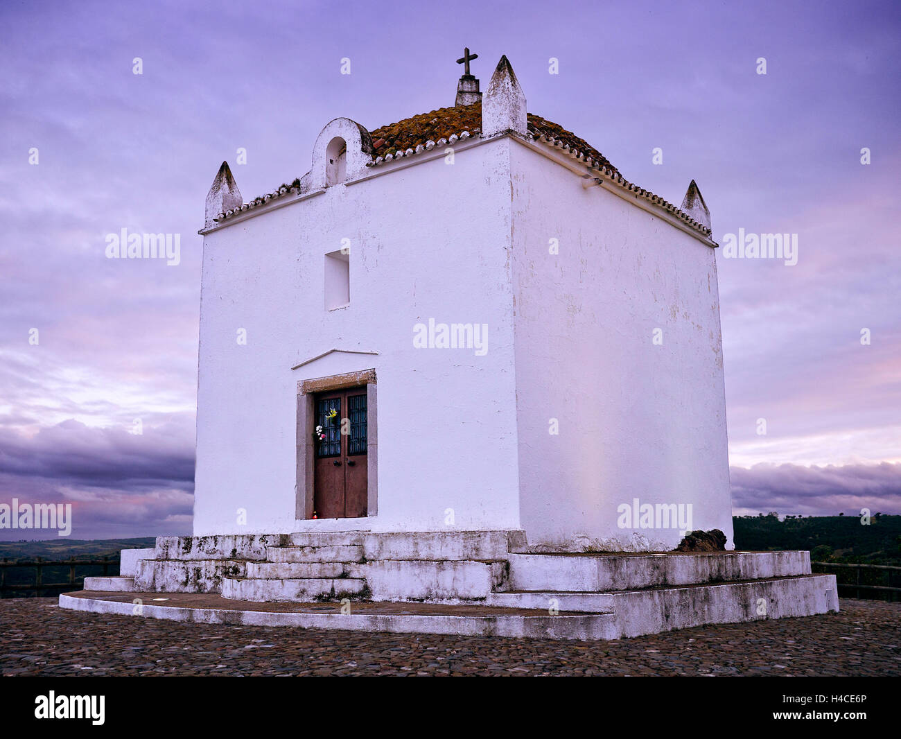 Small band in the hinterland Portugal - Stock Image
