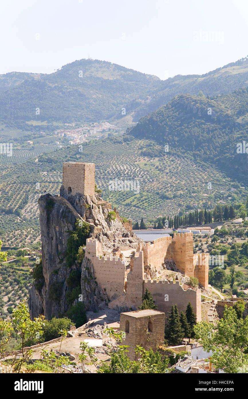 La Iruela, Jaen, Andalusia, Spain - Stock Image