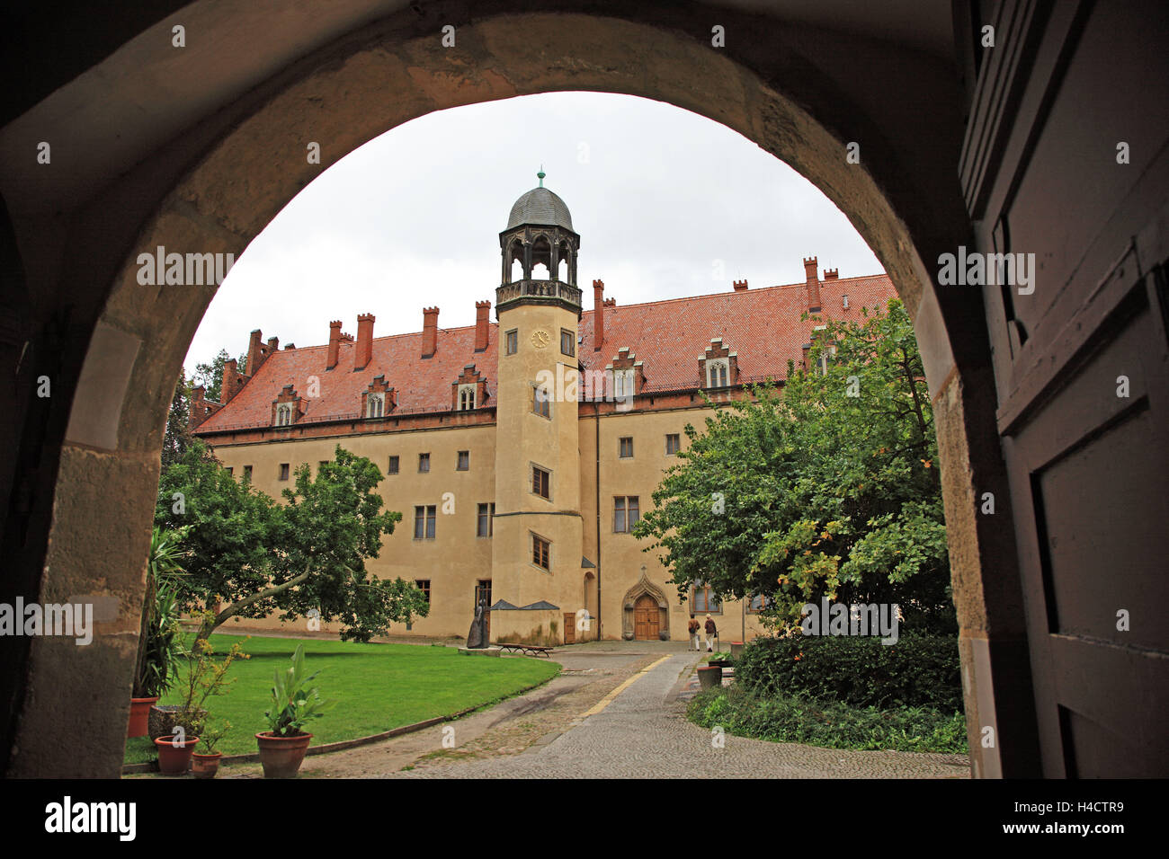Germany, Saxony clue, Luther Memorials in Wittenberg, Luther House, UNESCO World Heritage - Stock Image